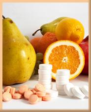 витамины, таблетки, поливитамины, фрукты,
