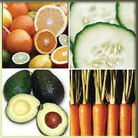 фрукты, овощи, натуральная косметика, маски, компрессы, тоник, пилинг